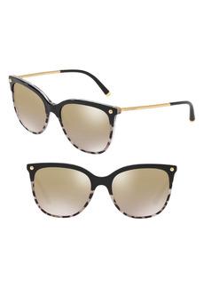 Dolce & Gabbana Dolce&Gabbana Lucia 55mm Sunglasses