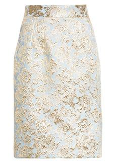 Dolce & Gabbana Dolce&Gabbana Matelassé Pencil Skirt