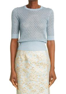 Dolce & Gabbana Dolce&Gabbana Metallic Knit Sweater