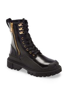 Dolce & Gabbana Dolce&Gabbana Platform Hiking Boot (Women)