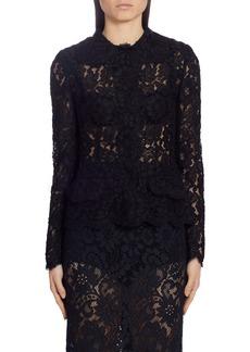 Dolce & Gabbana Dolce&Gabbana Sheer Lace Cardigan