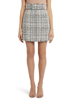 Dolce & Gabbana Dolce&Gabbana Short A-Line Tweed Skirt