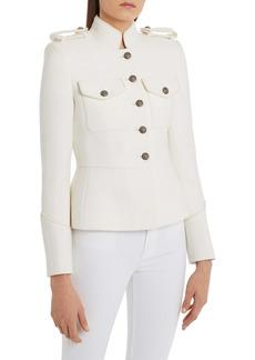 Dolce & Gabbana Dolce&Gabbana Wool Blend Military Jacket