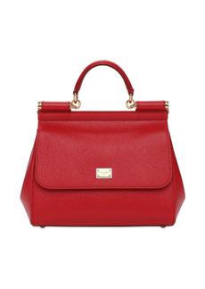 Dolce & Gabbana Md Sicily Leather Bag