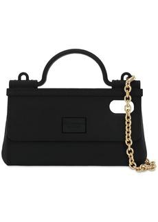 Dolce & Gabbana Pvc I Phone X Case W/chain