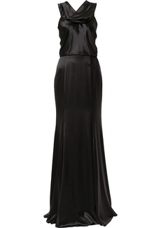 Dolce & Gabbana silk-blend evening gown