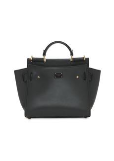 Dolce & Gabbana Small Leather Sicily Soft Bag