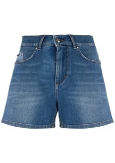 Dolce & Gabbana stonewashed denim shorts