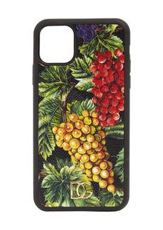 Dolce & Gabbana Uva Printed I Phone 11 Pro Max Cover