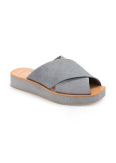 Dolce Vita Capri Genuine Calf Hair Platform Slide Sandal (Women)