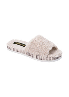 Dolce Vita Faux Fur Platform Slide Slipper (Women)
