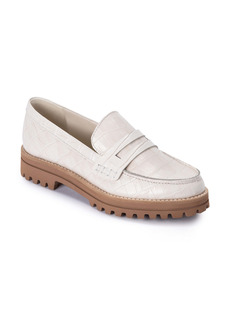 Dolce Vita Aubree Croc Embossed Loafer (Women)