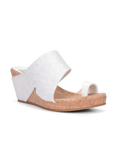 Donald J Pliner Donald Pliner Gemmy Wedge Slide Sandal (Women)
