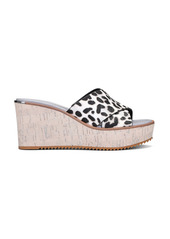 Donald J Pliner Donald Pliner Ideal Genuine Calf Hair Platform Wedge Sandal (Women)