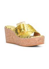 Donald J Pliner Donald Pliner Illiad Platform Wedge Slide Sandal (Women)