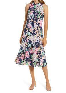 Women's Donna Ricco Floral Midi Dress
