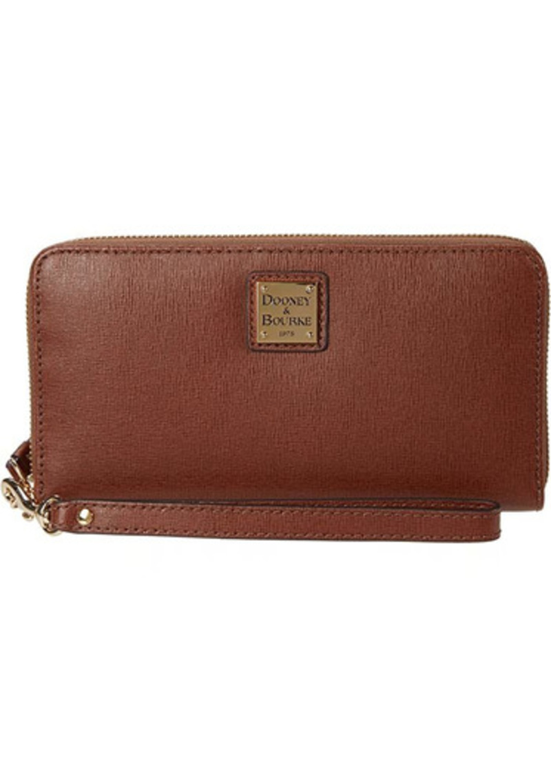 Dooney & Bourke Large Zip Around Wristlet