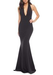 Dress the Population Camden Mermaid Hem Evening Gown