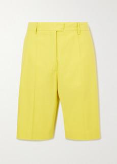 Dries Van Noten Cotton-blend Gabardine Shorts