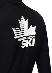 Dsquared2 Back Logo Tech Jersey Ski Jumpsuit