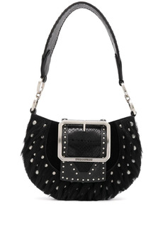 Dsquared2 studded shoulder bag