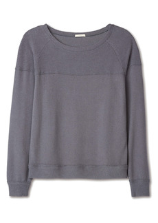 Eberjey Cozy Time Mixed Media Women's Sweatshirt