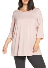 Eileen Fisher Ballet Neck Tunic Top (Plus Size)