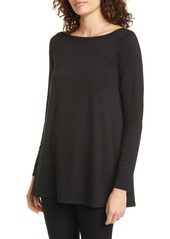 Eileen Fisher Bateau Neck Tunic