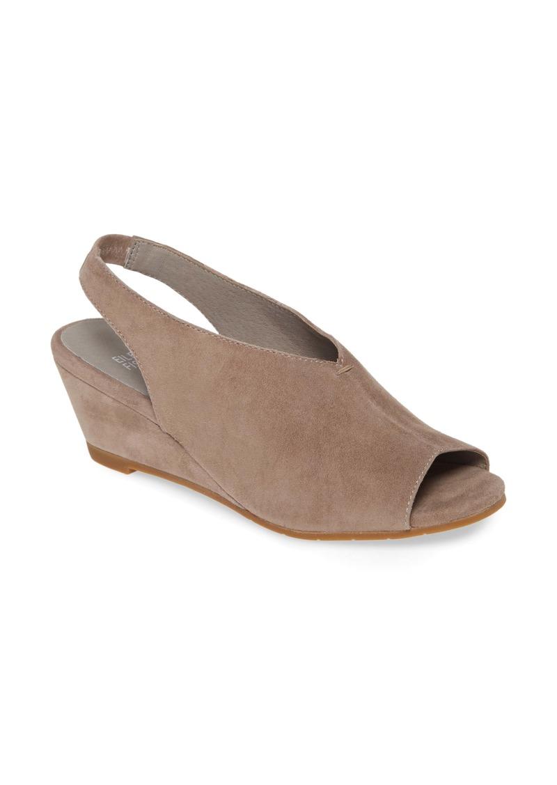 Eileen Fisher Clay Slingback Wedge Sandal (Women)