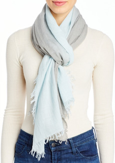 Eileen Fisher Colorblocked Scarf