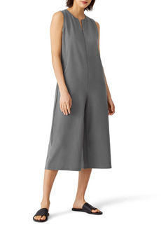 Eileen Fisher Crop Wide Leg Jumpsuit