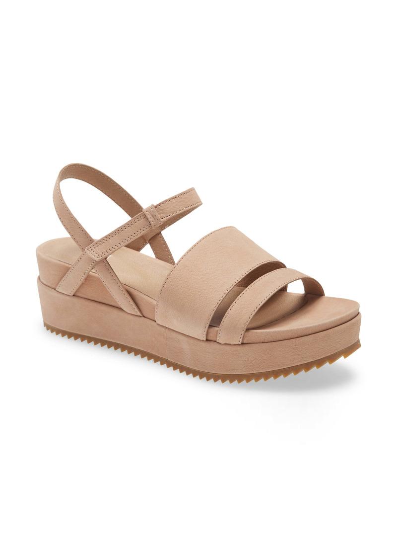 Eileen Fisher Ego Platform Sandal (Women)