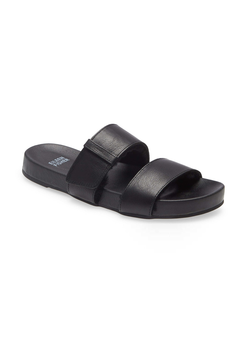 Eileen Fisher Folk 2 Slide Sandal (Women)
