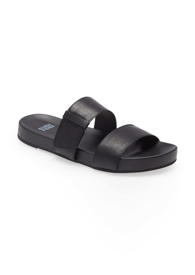 Eileen Fisher Folk Slide Sandal (Women)
