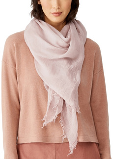 Eileen Fisher Fringed Scarf