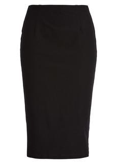 Eileen Fisher High Waist Pencil Skirt