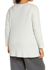 Eileen Fisher High/Low Tunic Top (Plus Size)
