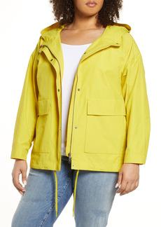 Eileen Fisher Hooded Coat (Plus Size)