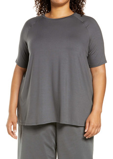 Eileen Fisher Jersey Tunic Top (Plus Size)