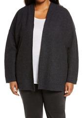 Eileen Fisher Lightweight Boiled Wool Jacket (Plus Size)