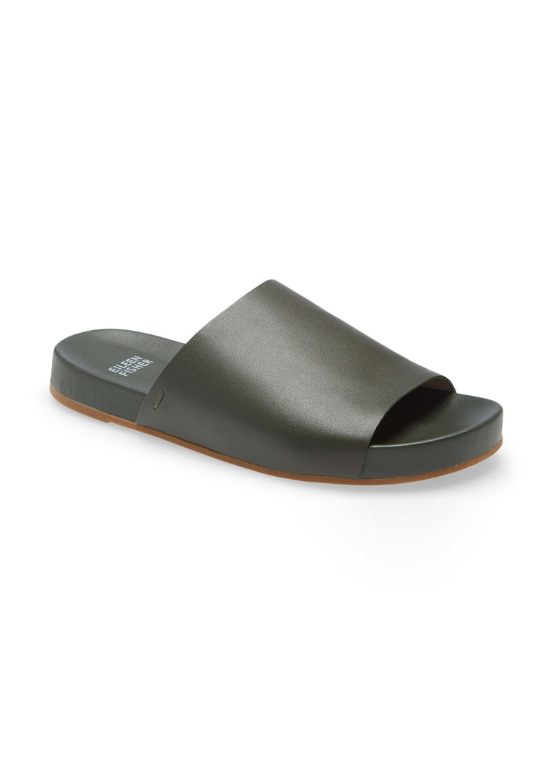 Eileen Fisher Mask Slide Sandal (Women)