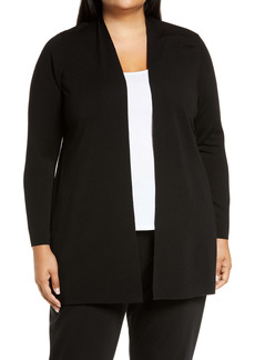 Eileen Fisher Merino Wool Cardigan (Plus Size)
