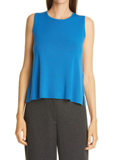Eileen Fisher Merino Wool Crewneck Shell (Petite)