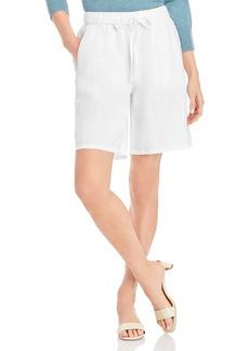 Eileen Fisher Mid Thigh Linen Shorts