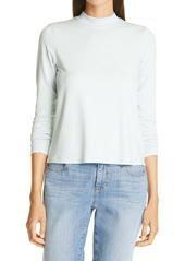 Eileen Fisher Mock Neck Long Sleeve Top