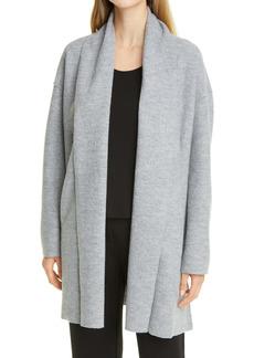 Eileen Fisher Open Front Boxy Longline Jacket