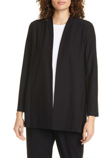 Eileen Fisher Open Front Shawl Jacket (Regular & Petite)
