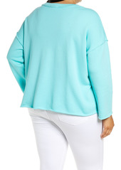 Eileen Fisher Organic Cotton Box Top (Plus Size)