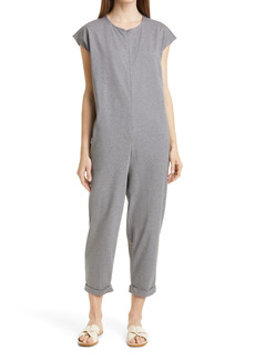 Eileen Fisher Organic Cotton Crop Jumpsuit