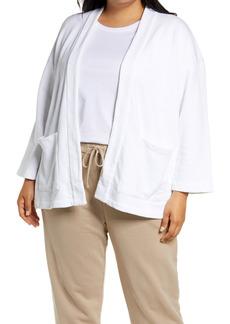 Eileen Fisher Organic Cotton Jacket (Plus Size)